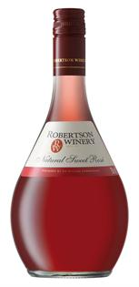 Robertson Winery Natural Sweet Rose 750ml - Case of 12